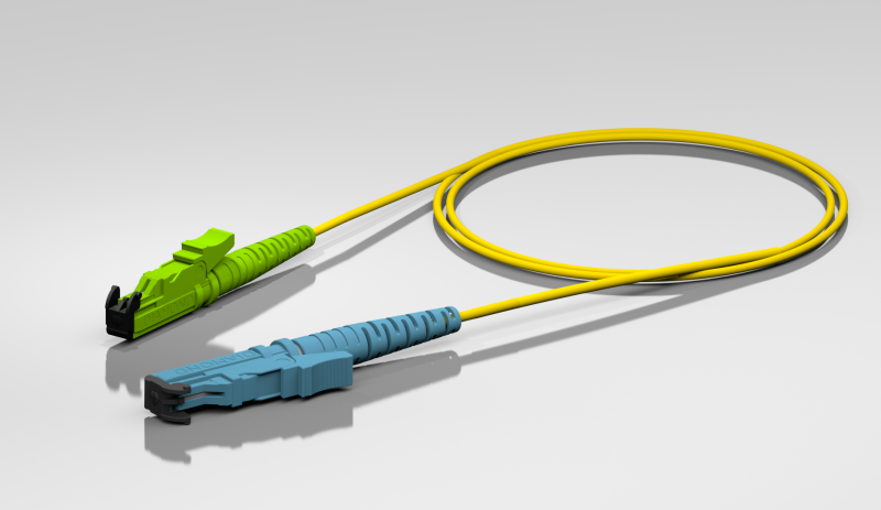 Patch Cords and Pigtails with Diamond Connectors