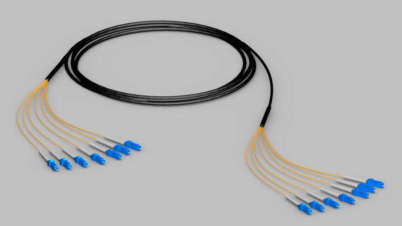 Fiber Optic Cables for Simple Installation